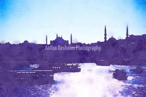 Watercolor-Istanbul