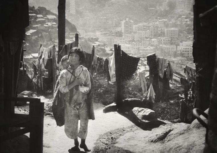 Children in a squatter settlement (1962)